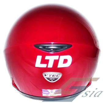LTD VTEC Mono Helmet (Red) - 2
