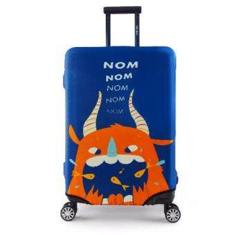 Harga Luggage Protector Cover Travel Suitcase Standard Handle - Monster -L size