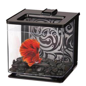 Harga Marina Betta Aquarium EZ Care 2.5L - Black - Fish Tank (13358)