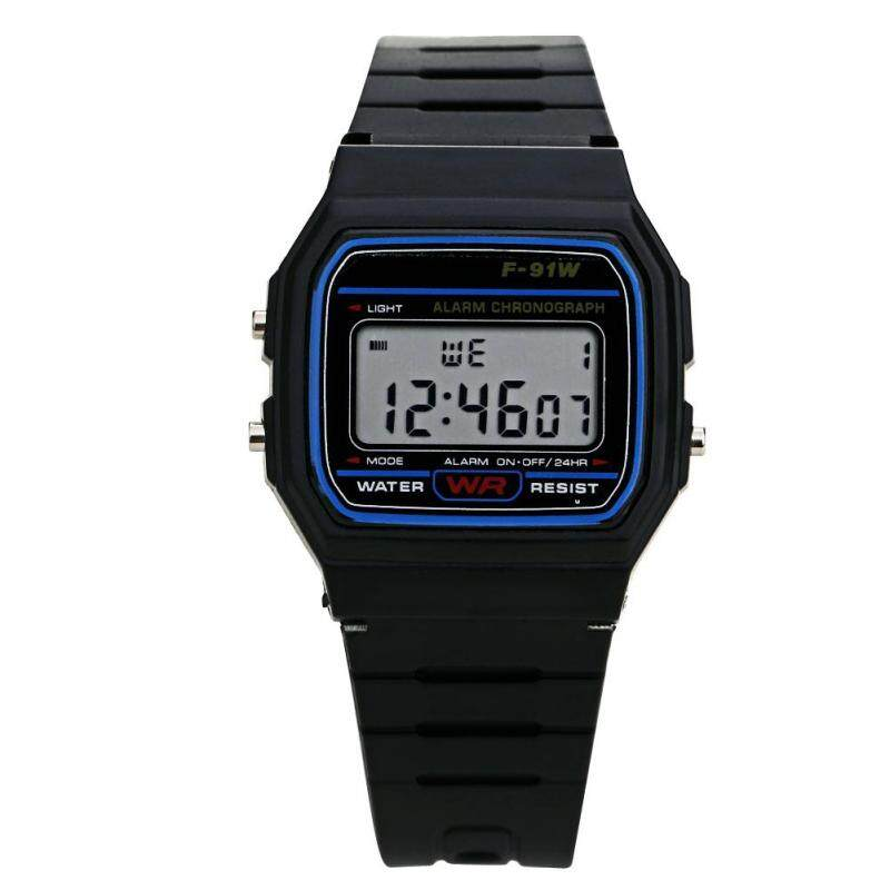Men Electronic Led Digital Multifunction Sport Watch (Black) Malaysia