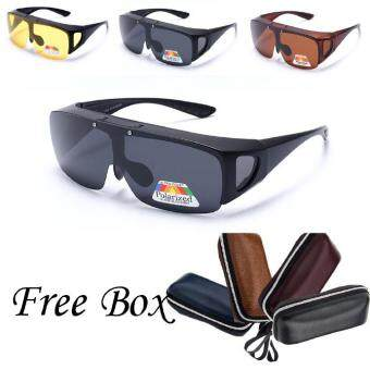 Men Women Polarized Fit Over Unisex Sunglasses