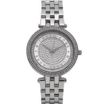 Harga Michael Kors Silver Mini Darci Watch ( MK3476 )