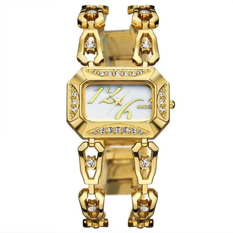 moob 2016 new kingsky twist drill diamond watch watch watch customized wholesale manufacturers of quartz watch (Gold) Malaysia
