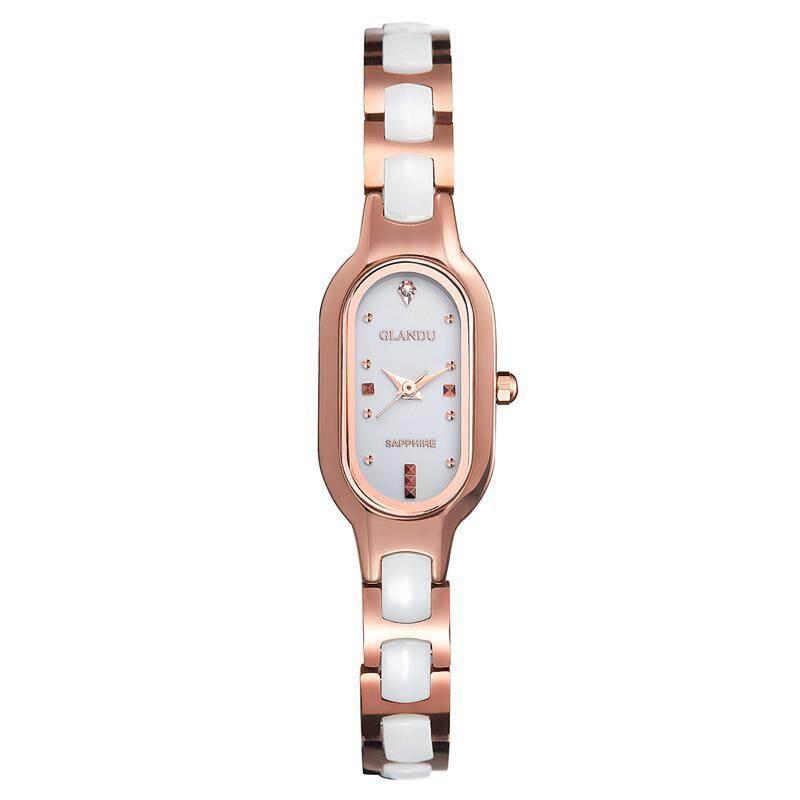moob Lattice waves are genuine tungsten Bracelet Watch (Rose Gold) Malaysia
