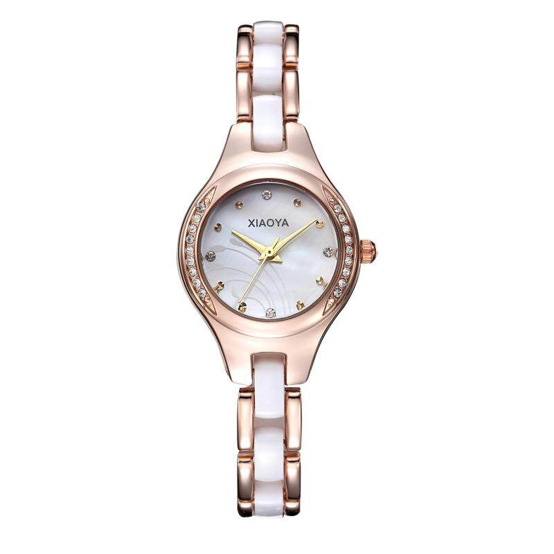 moob Miss Han Ban fashion simple ceramic watches High-quality factory direct cost (WhiteGold) Malaysia