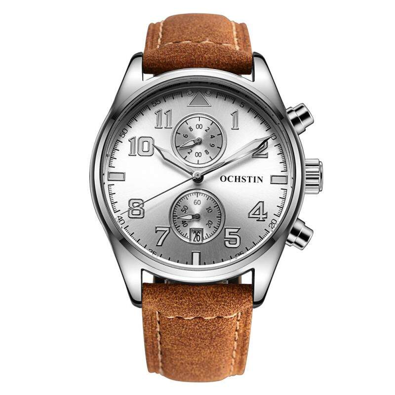 moob Speed sell through the explosion of a large Swiss watch dial quartz watch fashion men really strap waterproof watch manufacturers wholesale (White) Malaysia