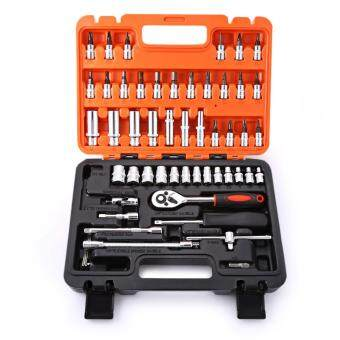 Motocycle Hand Tool Sets Auto Repair Tools Combination RatchetWrench Set For Car Tools Kit Hand Tool Box 53pcs/Set - 2