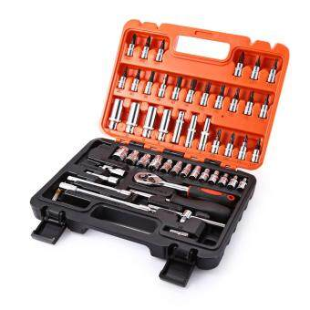 Motocycle Hand Tool Sets Auto Repair Tools Combination RatchetWrench Set For Car Tools Kit Hand Tool Box 53pcs/Set
