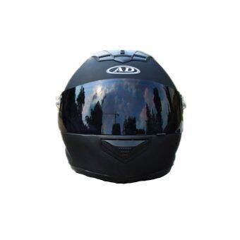 Harga Motorcycle Helmet Ad-179 - Matt Black