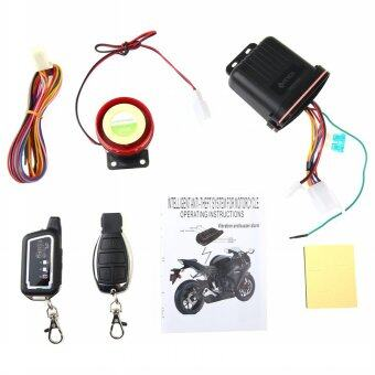 Harga Motorcycle Motorbike Scooter Anti-theft Security Remote VibrationSensor Alarm Two-way Security