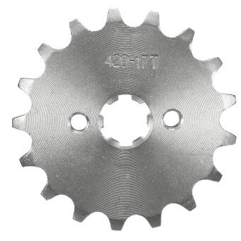 Harga Motors Protective Gear Motorcycle Stainless Steel 10 11 12 13 14 1516 17 18 19 Tooth Counter Sprocket For 70Cc 110Cc 125Cc Pit DirtBike (17 Tooth)