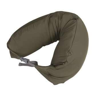 Harga MUJI Inspired Well Fitted (Microbead) Travel Pillow Khaki