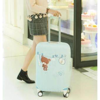 Harga New Design Quality Stretchable Elastic Travel Luggage SuitcaseProtective Cover Cabin Size 21-24 inch