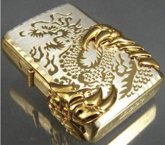 Harga New Golden Japanese Dragon -08 Zippo Lighter