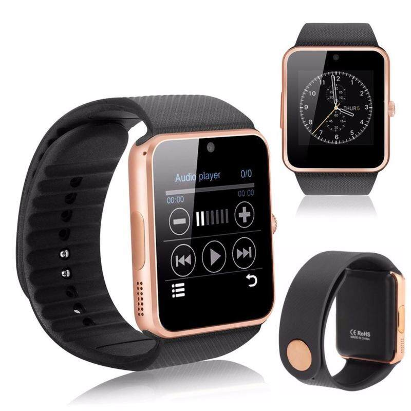 New GT08 Smart Watch Compatible with Iphone Android Smartwatch Malaysia