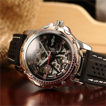 Harga New Men Leather Watch Wrist Original Luxury Top Brand Big AutomaticFashion Sports Mechanical Watches Relogio Masculino