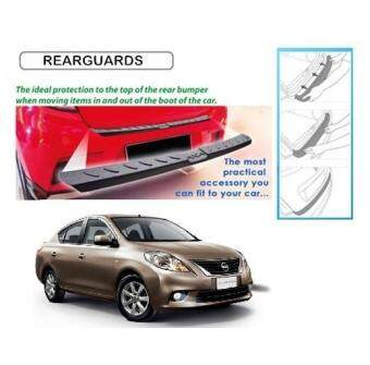 Nissan Almera Rear Bumper Step Reflector Guard
