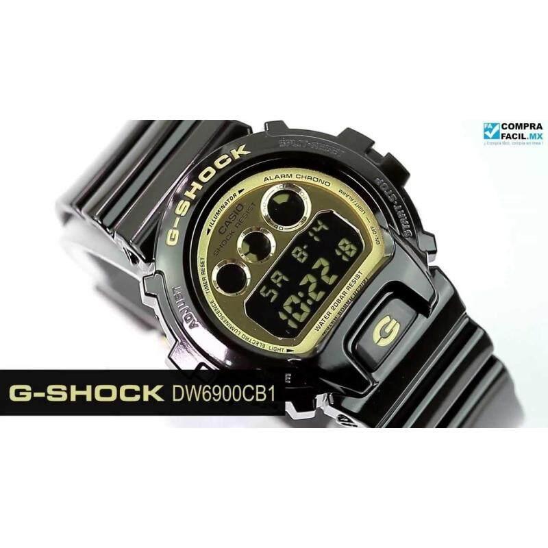 [ORIGINAL] Casio G-Shock DW-6900CB-1 Black Malaysia