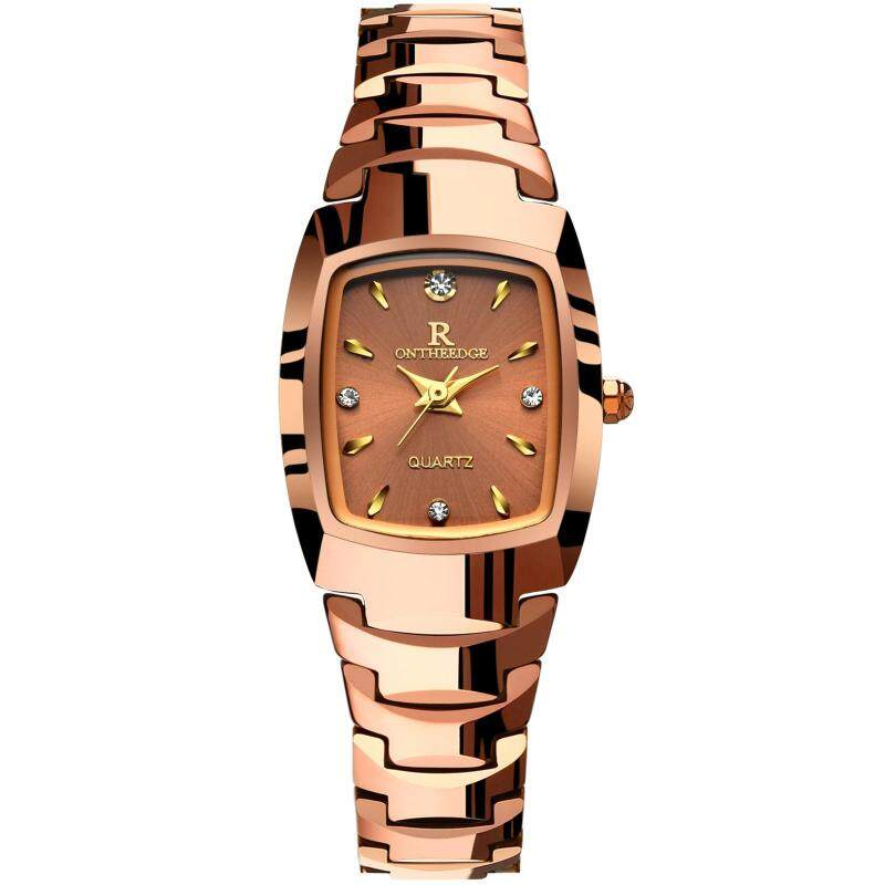 Original Luxury Tungsten Steel Watches Women Quartz Watch Diamond Gold Wrist Watch Clock Ladies Dress Watch Malaysia