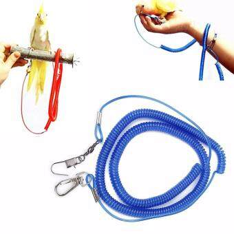 Harga Parrot Bird Lead Leash Kit Anti-bite Flying Training Rope For Cockatiel Budgie