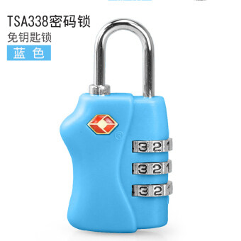 Password lock TSA customs lock luggage password lock fitnesswardrobe padlock travel box bag padlock box bag lock door lock