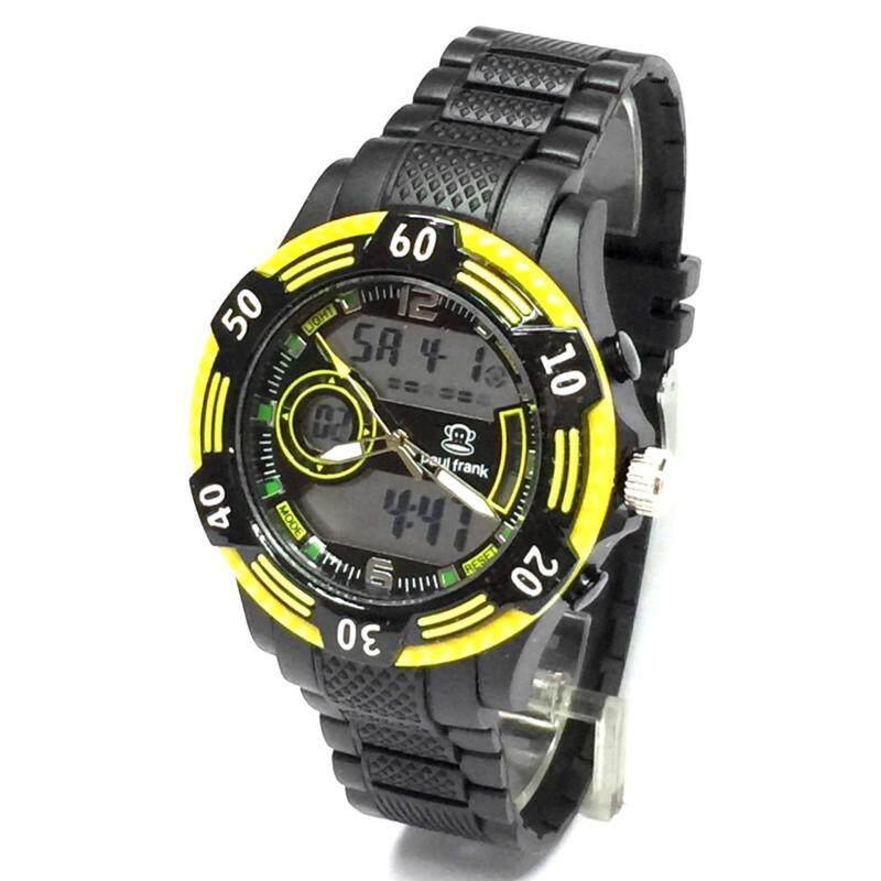 Paul Frank Analogue Digital Watch PFSQ2134-01A (Yellow) Malaysia