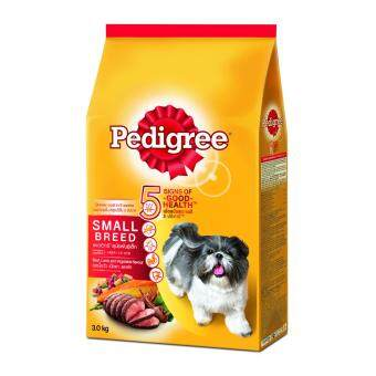 Harga PEDIGREE Small Breed Beef, Lamb & Vege 3.0kg