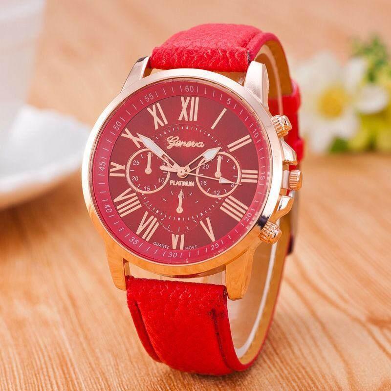 PerfectWorld Geneva Roman Numerals Watch Wristwatch Quartz Watches For Women/Men Colorful Malaysia
