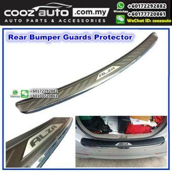 Harga Perodua Alza Chrome ABS Rear Bumper Guards Protector