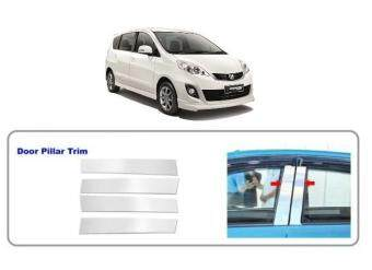 Harga Perodua Alza Stainless Steel Chrome Door Window Pillar Trim Cover
