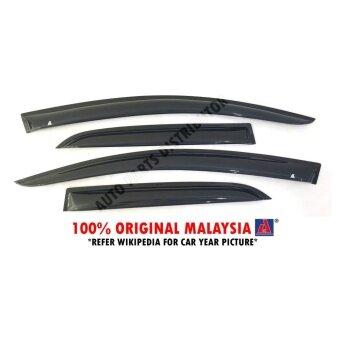 Perodua Axia 2014-Present AG Door Visor Air Press Wind Deflector(Small 7cm Width)