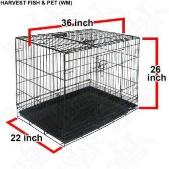 Harga Petzoo Pet D306 1-Level Pet Cage (36 Inch x 22 Inch x 26 Inch)