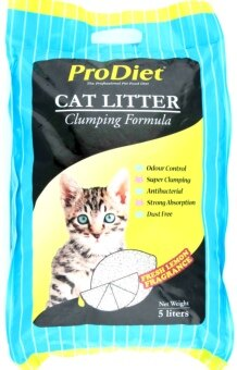 ProDiet Clumping Formula Fresh Lemon Fragrance Cat Litter 5L