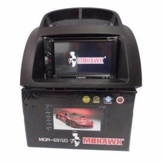 Produa Myvi MOHAWK MOR-6219D 6.2 Inch OEM Plug & PlayTouchscreen DVD/Double Din/2 DIN player USB Bluetooth With Casing