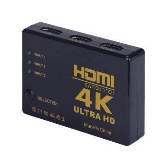Harga Professional 4K 2K HD 3 in 1 out HDMI Switch Hub Splitter TVSwitcher Adapter