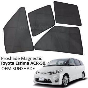 Proshade Magnetic Custom Fit OEM Sunshades/ Sun shades for ToyotaEstima ACR-50 (6PCS)