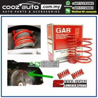 Harga Proton Preve GAB SP Series Cool Lowered Sport Spring