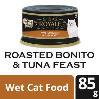 PURINA FANCY FEAST(R) ROYALE Roasted Bonito & Tuna Feast Wet Cat Food Can (1 Can of 85g)