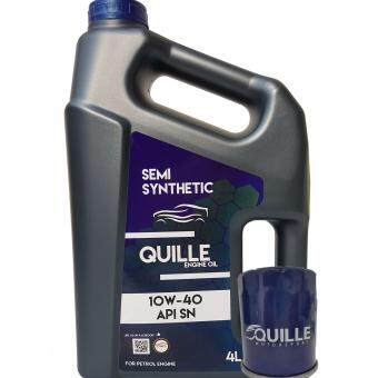 Quille Semi Synthetic 10W40 API SN 4L Engine Oil + Proton Oil Filter
