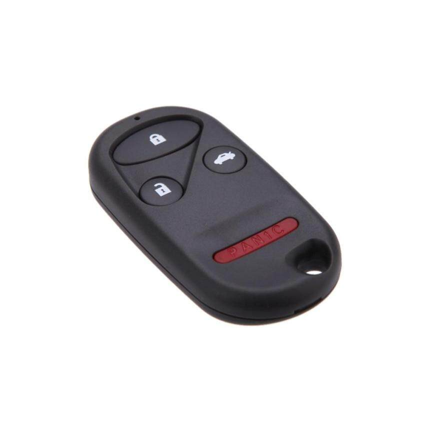 Remote Key Case for HONDA CRV S2000 Insight Prelude Replacement Fob4 Button - intl
