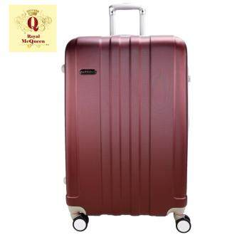"Harga Royal McQueen 24"" Hard Case Extra Light 8 Wheels Luggage - QTH 6911 - Maroon"