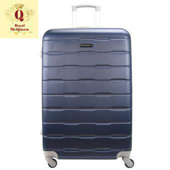 Harga Royal McQueen Hard Case 4 Wheels Spinner Light Weight 24 Luggage - QTH 6910 (NAVY)""