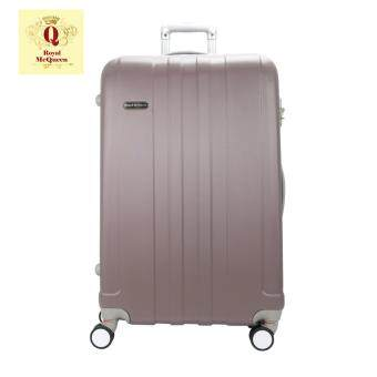 Harga Royal McQueen Hard Case Extra Light 8 Wheels 20 Luggage - QTH 6911 - BROWN""