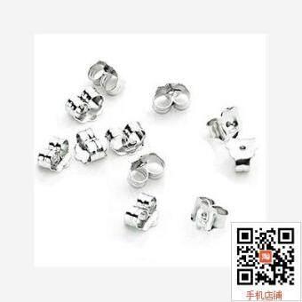 S925 sterling silver ear jewelry accessories ear plug ear buckleear gold ear silver ear plug
