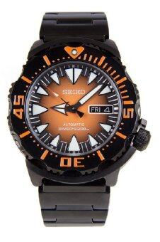Harga Seiko Monster Automatic SRP311K1 Gents Orange Dial Black StainlessSteel Diver's Watch (Black & Orange)