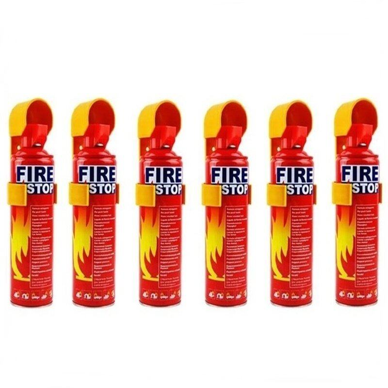 Buy Set of 6 Portable Mini Fire Extinguisher automotive Car & Home Dual Use Malaysia