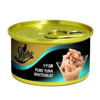 Harga SHEBA Can Pure Tuna Whitemeat (Jelly) x 24 Cans