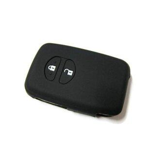Harga Silicone Remote Car Key Cover for Toyota Wish or Prius Keyless Remote (Black)