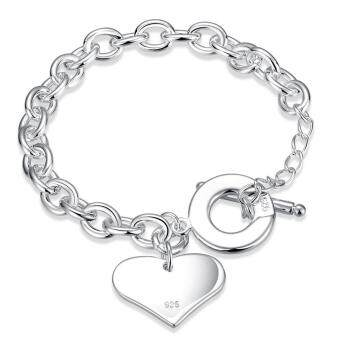 Silver plated bracelet Factory Direct Sale Bracelet fashionbracelet Charm Bracelet cicret bracelet for Women