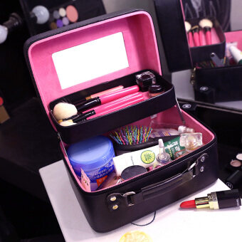 Skin Care Products Double hard the Korean-style portableprofessional beauty case